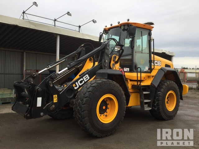 2013 JCB 427HT Wheel Loader, Wheel Loader