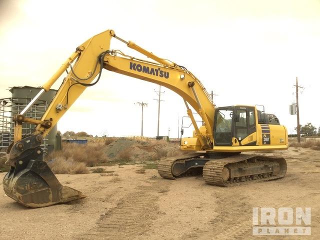 2017 Komatsu PC360LC-11 Track Excavator, Hydraulic Excavator