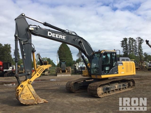 2019 John Deere 210G LC Track Excavator, Hydraulic Excavator