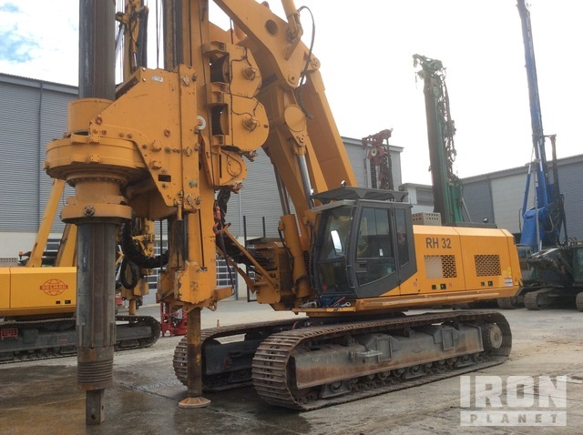 2006 Delmag RH32 Foundation Drill, Drilling Equipment - Other