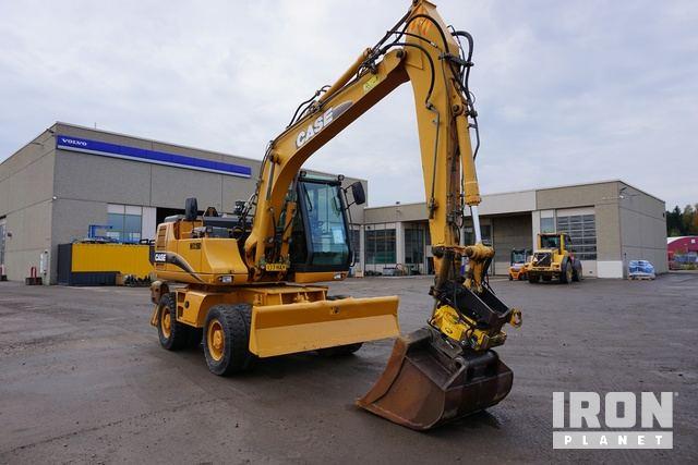 2003 Case WX150 Wheel Excavator, Mobile Excavator