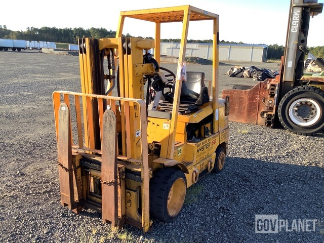 Hyster S60XMG Cushion Tire Forklift, Forklift