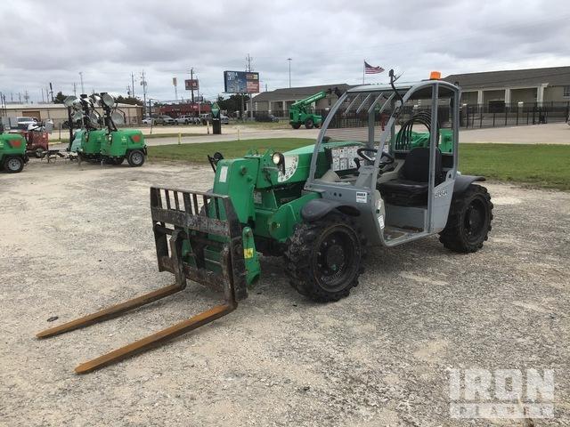 2012 (unverified) Genie GTH5519 4x4x4 5500 lb. Telehandler, Telescopic Forklift