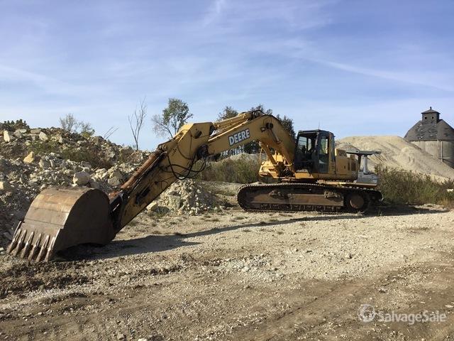 John Deere 370C Track Excavator, Hydraulic Excavator
