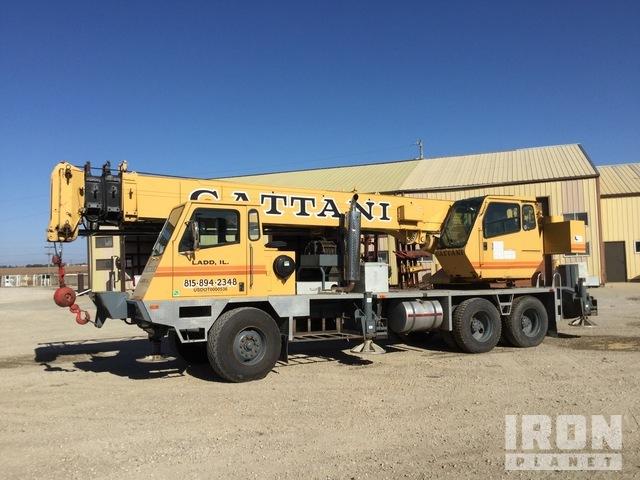 Terex T340 Hydraulic Truck Crane, Hydraulic Truck Crane