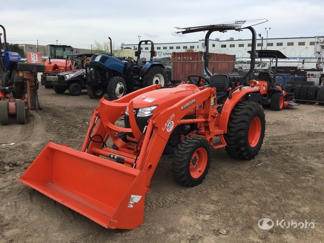 Kubota L2501D 4WD Tractor, MFWD Tractor