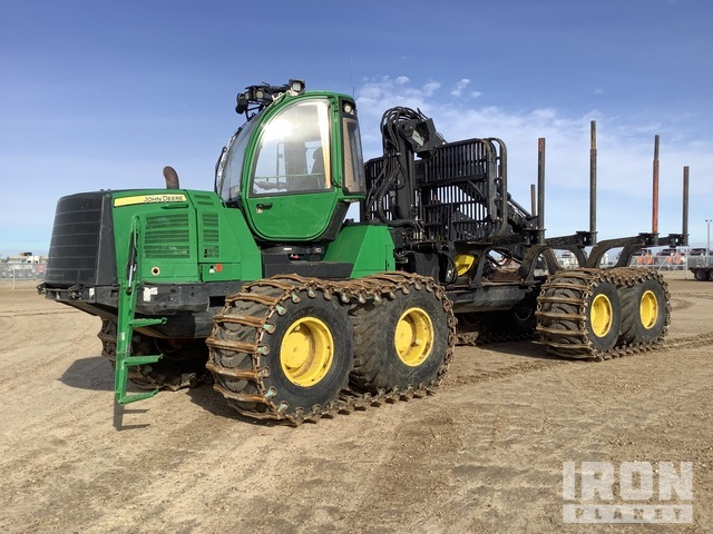 2012 John Deere 1910E 21 ton 8x8 Log Forwarder, Forwarder