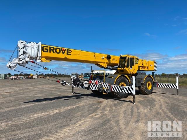 2007 Grove RT700E 60 t 4x4x4 Rough Terrain Crane, Rough Terrain Crane