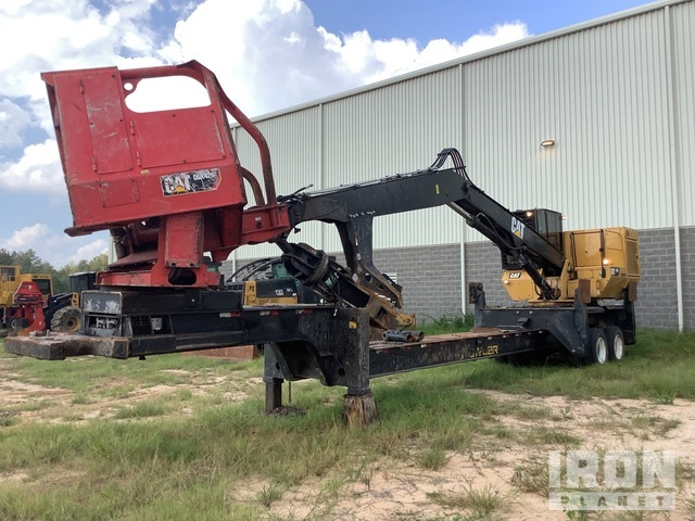 2018 Cat 559D Pitt T/A Trailer Mounted Log Loader, Log Loader