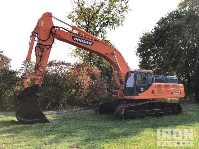 2012 Doosan DX420LC-3 Track Excavator, Hydraulic Excavator