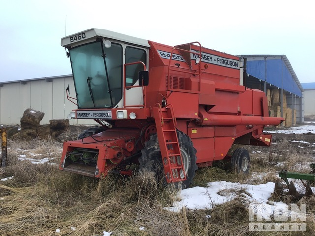 Massey Ferguson 8450 Combine, Parts/Stationary Construction-Other