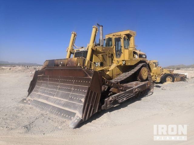 1990 Cat D10N Crawler Dozer, Crawler Tractor