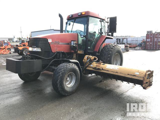 Case IH Maxxum 110 2WD Tractor, 2WD Tractor