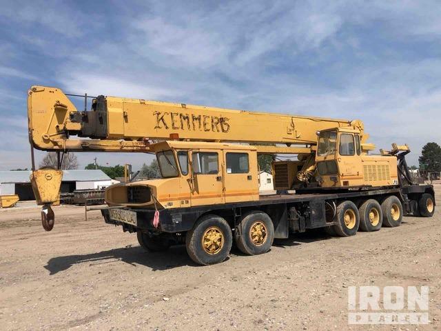Grove TM600 Hydraulic Truck Crane, Hydraulic Truck Crane