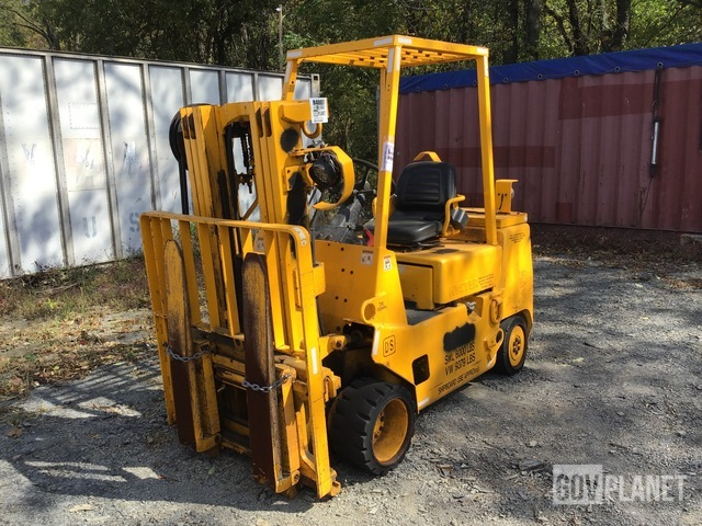 Hyster S60XLS Cushion Tire Forklift, Forklift