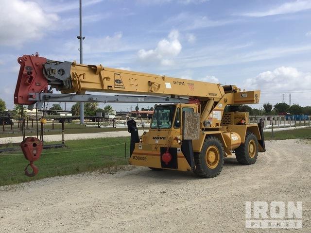 Grove RT58D 40000 lb 4x4 Rough Terrain Crane, Rough Terrain Crane