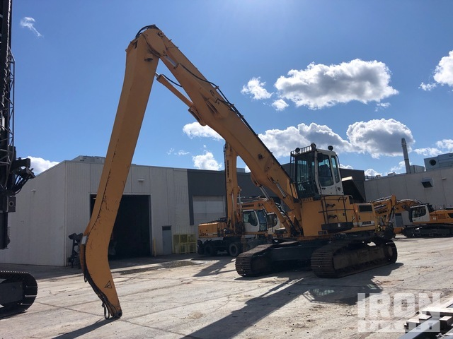 2004 (unverified) Liebherr-America R934BEW Litronics Track Material Handler, Material Handler