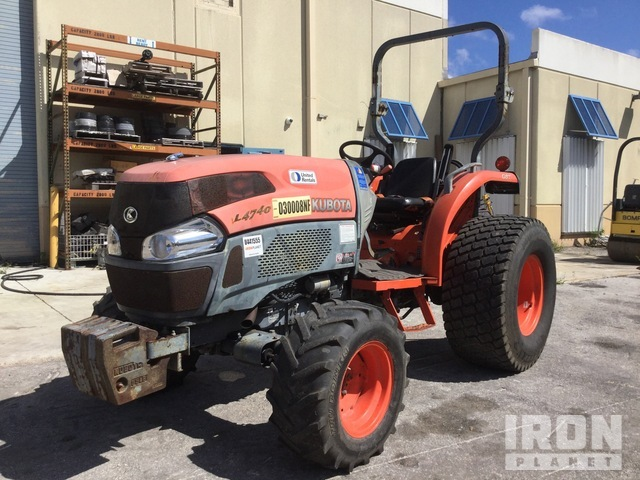 2011 (unverified) Kubota L4740D 4WD Tractor, MFWD Tractor