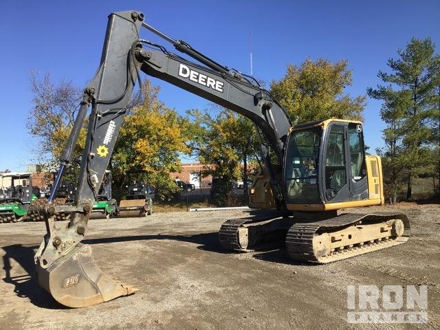 John Deere 135D Track Excavator, Hydraulic Excavator