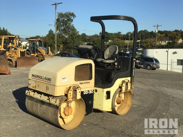 Ingersoll-Rand DD-30 Vibratory Double Drum Roller, Roller