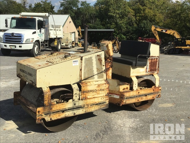 Ingersoll-Rand DD35 Vibratory Double Drum Roller, Tandem Roller