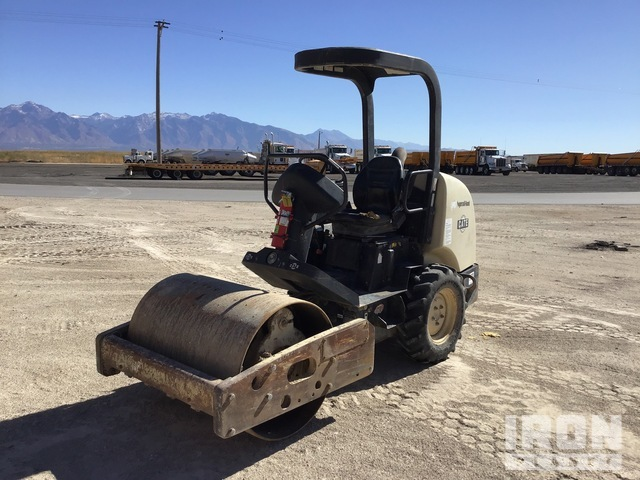 Ingersoll-Rand SD-25D Vibratory Single Drum Compactor, Vibratory Padfoot Compactor
