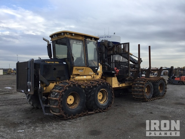 2007 (unverified) Tiger Cat 1065 8x8 Log Forwarder, Forwarder