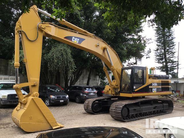 1999 Cat 345BL Track Excavator, Hydraulic Excavator