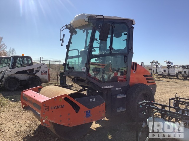 2018 (unverified) Hamm H5i Vibratory Single Drum Compactor, Parts/Stationary Construction-Other