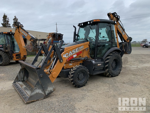 2019 (unverified) Case 580 Super N 4x4 Backhoe Loader, Loader Backhoe