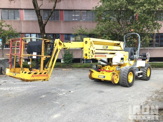 2010 Rexquote AccessRailer 17 4WD Diesel Articulating Boom Lift, Boom Lift