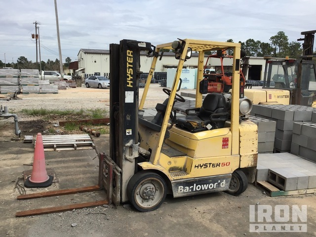 Hyster S50XM Cushion Tire Forklift, Parts/Stationary Construction-Other