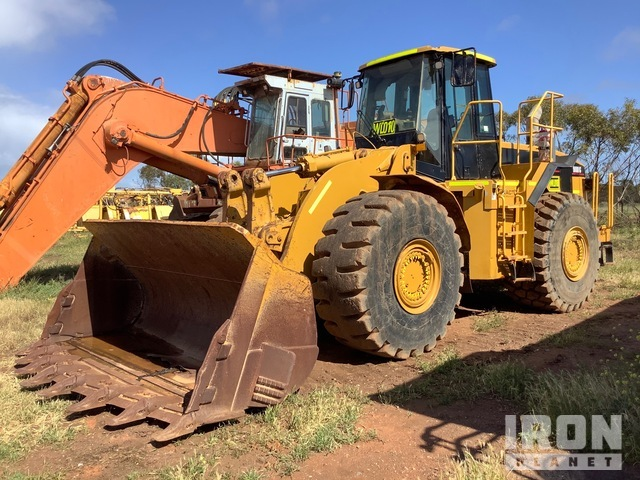 2002 Cat 980G Series II Wheel Loader (Inoperable), Wheel Loader
