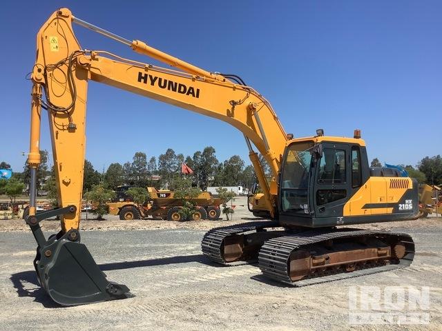 2019 Hyundai HX210S Track Excavator, Hydraulic Excavator