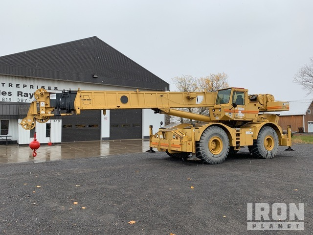 1999 Grove RT750 100000 lb 4x4x4 Rough Terrain Crane, Rough Terrain Crane