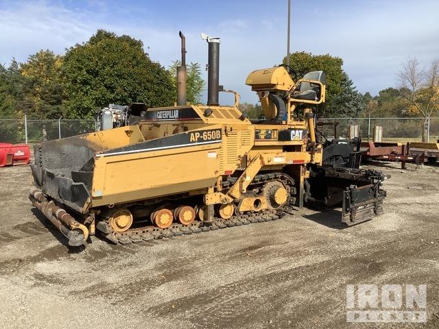 Cat AP-650B Track Asphalt Paver, Asphalt Paver