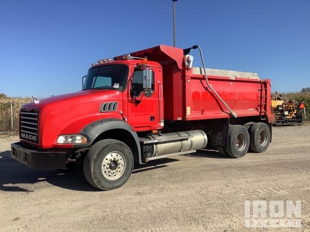 2009 (unverified) Mack GU813 6x4 T/A Dump Truck, Dump Truck (T/A)