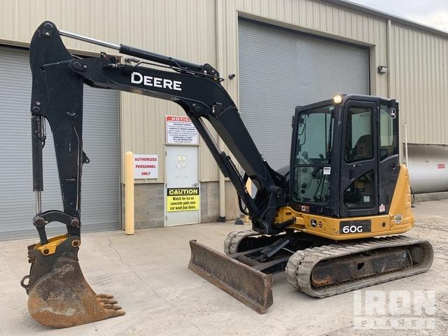 2015 (unverified) John Deere 60G Mini Excavator, Mini Excavator (1 - 4.9 Tons)