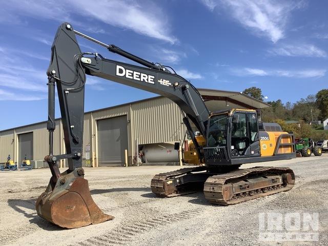 2018 (unverified) John Deere 250G LC Track Excavator, Hydraulic Excavator