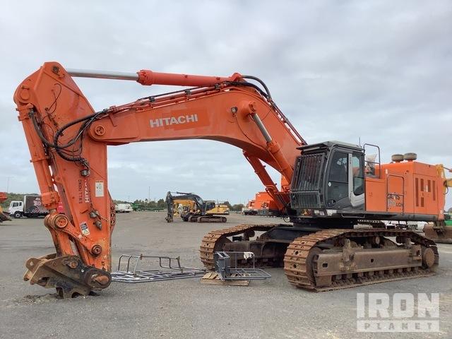 2012 Hitachi ZX870LCH-3 Track Excavator, Hydraulic Excavator