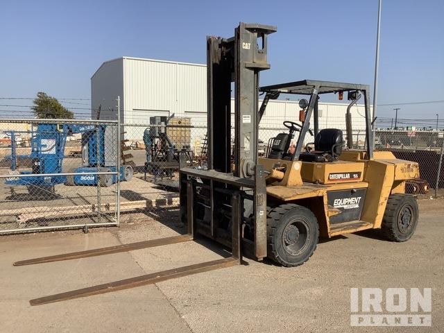 Cat DP70 Pneumatic Tire Forklift, Forklift