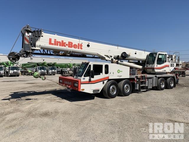 2014 (unverified) Link-Belt HTC8675 Series II 8x4x4 Hydraulic Truck Crane, Hydraulic Truck Crane