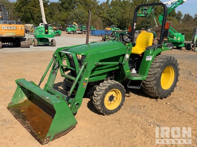 2014 (unverified) John Deere 3038E 4WD Tractor, MFWD Tractor