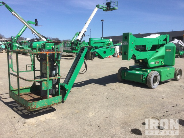 2012 JLG E400AJPN Electric Articulating Boom Lift, Boom Lift