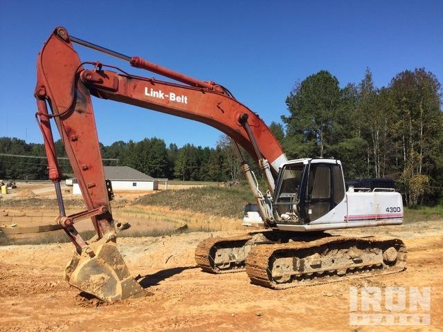Link-Belt 4300 Track Excavator, Hydraulic Excavator