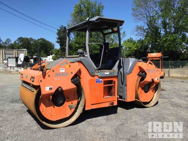 2010 Hamm HD120W Vibratory Double Drum Roller, Roller
