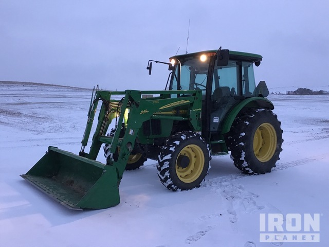 2002 (unverified) John Deere 5320 4WD Utility Tractor, Utility Tractor