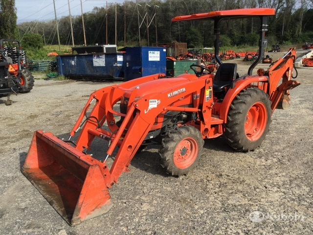 2018 (unverified) Kubota L2501D 4WD Tractor, MFWD Tractor