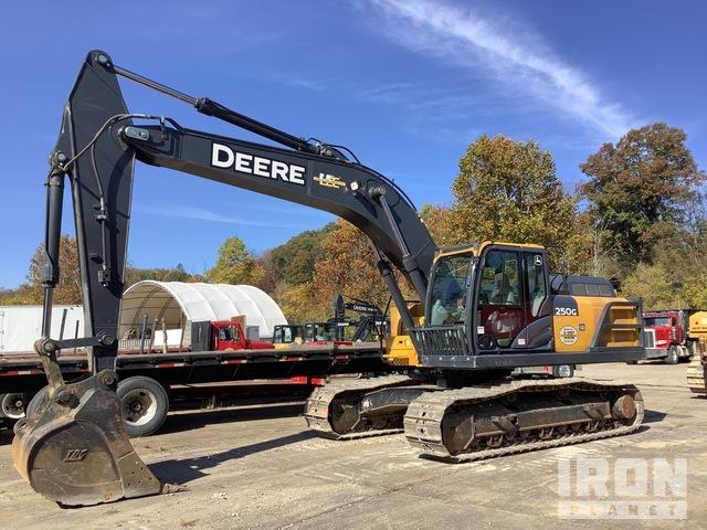 John Deere 250G LC Track Excavator, Hydraulic Excavator