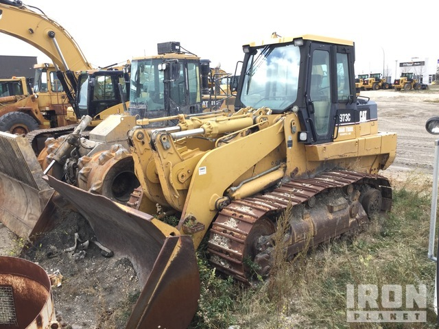 Cat 973C Crawler Loader, Crawler Loader